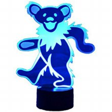 Grateful Dead Bear LED Light
