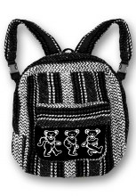 Grateful Dead Bears Baja Backpack