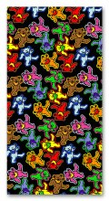 Grateful Dead Dancing Bears Beach Towel