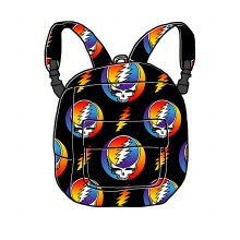 Grateful Dead Steal Your Face Rainbow Fleece Blanket Backpack