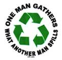 What One Man Gathers Sticker