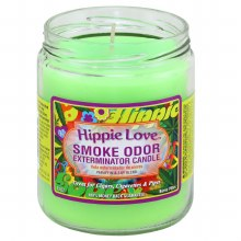 Hippie Love Smoke Odor Exterminator Candle