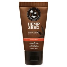 Hemp Seed Body Care Isle of You 1 oz Shaving Cream