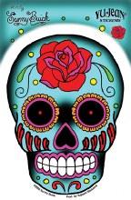Sugar Skull Roses Sticker