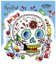 Sugar Skull Candy Sticker