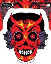 Evilkid La Diabilita Sticker