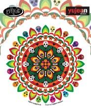 Evilkid Muertos Mandala Sticker