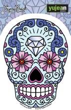 Sugar Skull Diamond Sticker
