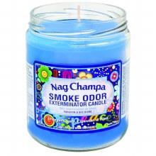 Nag Champa Smoke Odor Exterminator Candle