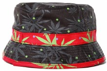 Niko Leaf Bucket Stash Hat