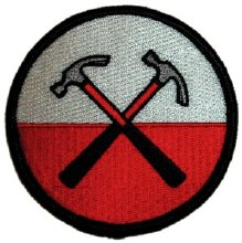 Pink Floyd The Wall Hammers Patch
