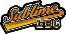 Sublime Baseball LBC Logo Patch