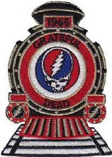 Grateful Dead 1965 Steal Your Face Patch