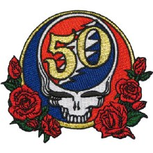 Grateful Dead 50th Anniversary Patch