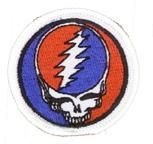Grateful Dead Steal Your Face Small Patch