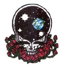 Grateful Dead Space Your Face Small Patch