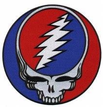 Grateful Dead Steal Your Face Giant Patch