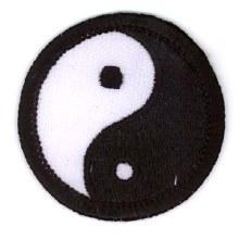 Yin Yang Small Patch