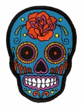 Patch - Sugar Skull PH493