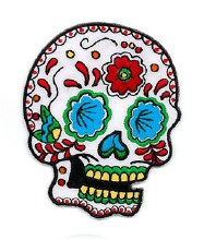 Sugar Skull Candy Patch