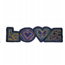 Psychadelic Love Letters Patch