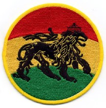 Rastafari Lion Patch