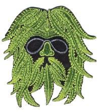 Hippie Green Man Patch