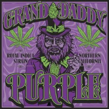 Grand Daddy Purple Sticker