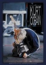 Kurt Cobain Kneeling Sticker