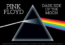 Pink Floyd Darkside of the Moon Sticker