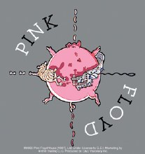 Pink Floyd Pig Sticker