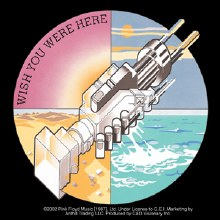 Pink Floyd Wish You Were Here Gear Sticker