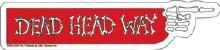 Grateful Dead Dead Head Way Sticker