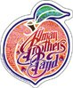 Allman Brothers Band 60s Peach Sticker