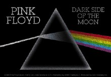 Pink Floyd Darkside of the Moon Glitter Sticker