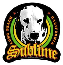 Sublime Lou Dog Sticker