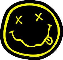 Nirvana Smiley Diecut Sticker