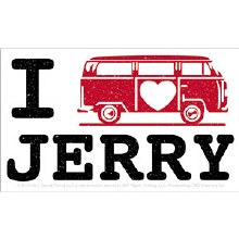 Grateful Dead I Love Jerry Van Sticker