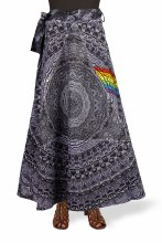 Pink Floyd Shadows Wrap Skirt
