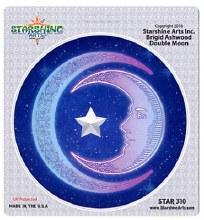 Double Moon Sticker