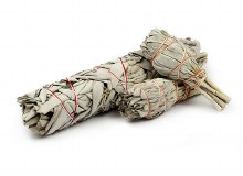 "White Sage 7"" Smudge Stick"