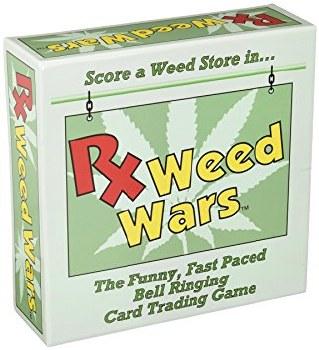 Rx Weed Wars Card Game