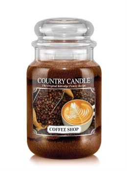 Country Candle 23oz Lg Jar: Coffee Shop