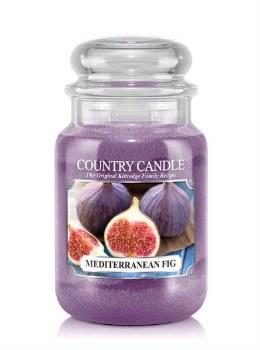 Country Candle 23oz Lg Jar: Mediterranean Fig