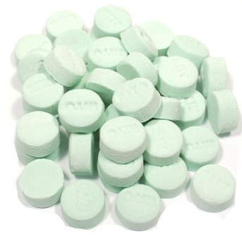 Green Spearmint Mints