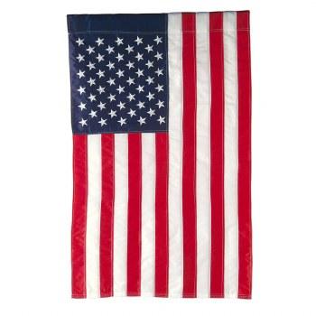 American Flag House Applique Flag
