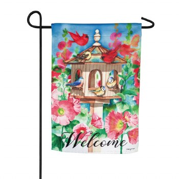 Cheerful Gathering Garden Suede Flag