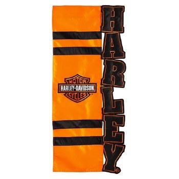 Harley Davidson Bar and Shield House Flag