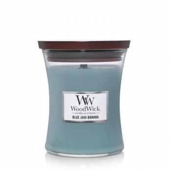 Woodwick Medium Jar Candle Blue Java Banana
