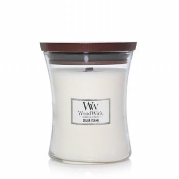 Woodwick Medium Jar Candle Solar Ylang